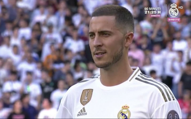 En dan doet Eden Hazard plots dít in volgepakt Bernabéu (VIDEO)